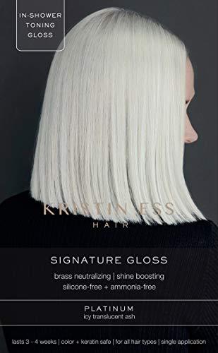 Kristin Ess The One Signature Hair Gloss - Platinum: Icy Translucent Ash