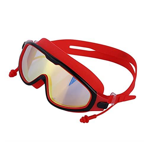 WSY Professional Silicone Myopia Nuoto Occhiali da Nuoto Anti Nebbia Occhiali da Tappellone per Uomo Donne Diottrica per Occhiali Sportivi (Color : B)