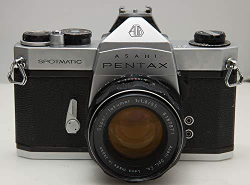 Pentax SP シルバー M42 55mm F1.8付き