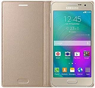 Samsung Galaxy A3 Flip Case - Gold