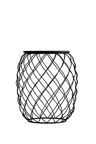 Magis – Pina Table Basse d'extérieur, en métal, Noir