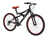 Vertical Equator 26' Dual Suspension Mountain Bike Black