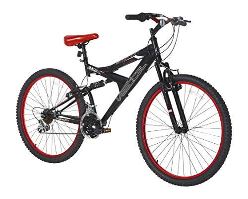 Vertical Equator 26' Dual Suspension Mountain Bike Black