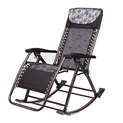 ZHAOJYZ Household schommelstoel, inklapbaar, voor volwassenen