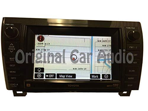 For Sale! 2007-2010 Toyota Sequoia Tundra OEM JBL Navigation GPS Radio MP3 CD Player LCD Display E70...