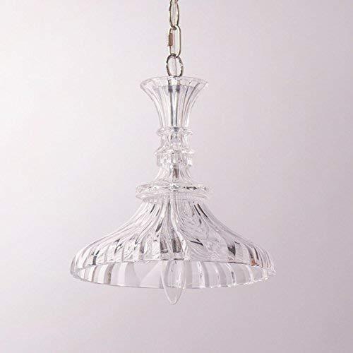 Minimalistische, op maat gemaakte kroonluchter retro binnenverlichting van helder glas (til: C)