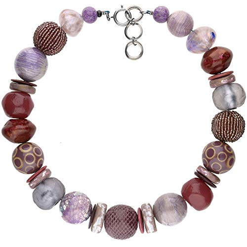 langani Halskette Giorgia Damen-Kette schwarzen Perle Handmade Since 1952