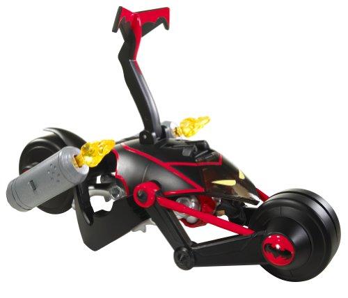DC Batman - R2578 - Figurine Accessoire - Batcycle Transformable