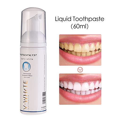 60ml Schaum Zahnpasta flüssige Zahnpasta Tiefenreinigung Zahnaufhellung