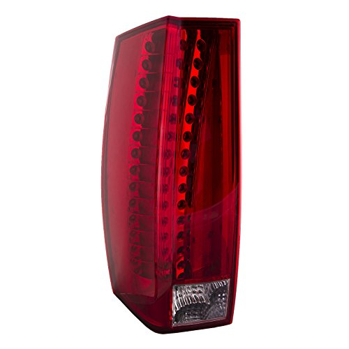 HEADLIGHTSDEPOT Tail Light Replacement Tail Light Left Driver Side Compatible with Cadillac Escalade/ESV/Hybrid