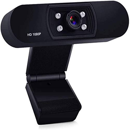 DSWHM HD Web Camera HD Webcam 1080P Built-in Microphone Best Webcam Videos For Meeting Full HD Live Webcam Streaming Video Camera For Computers PC Laptop Desktop, Video Calling, Conference, Online Stu