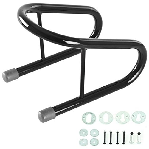 Almencla 14 cm schwarz Motorrad Reifen Reifen Unterlegkeil abnehmbar Fahrrad Anhänger Roller