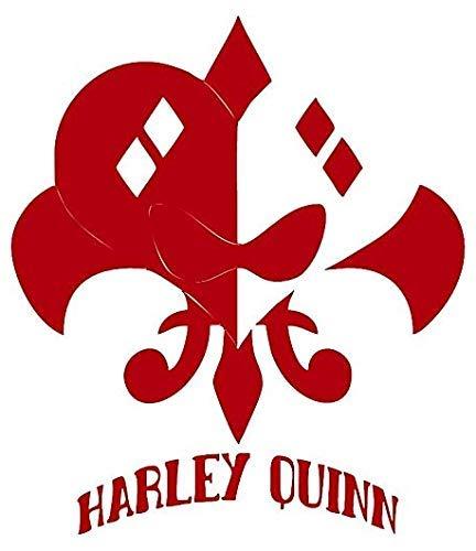 41lwQXwyJFL Harley Quinn Car Decals