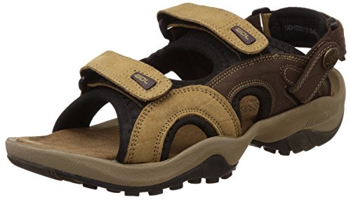 Woodland Men's Camel Leather Sandals and Floaters - 6 UK/India (40 EU)-(GD 1033111Y15_1)