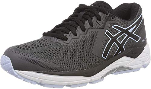 ASICS Damen Gel-Foundation 13 Laufschuhe, Grau (Dark Grey/Black 020), 41.5 EU