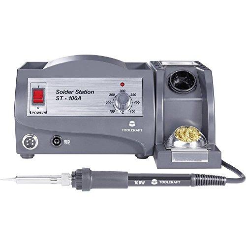 TOOLCRAFT ST-100A Lötstation analog 100 W +150 bis +450 °C