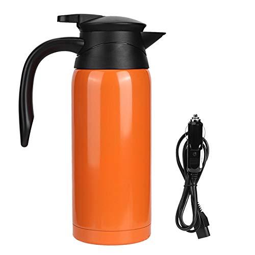 Autoboiler, waterkoker voor in de auto Veilig te gebruiken met autolaadkabel voor op reis voor in de auto