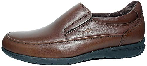Zapatos hombre FLUCHOS - Tipo mocasín - Piel, disponible en Marrón y Negro - 8499 - 60 (44, marrón)