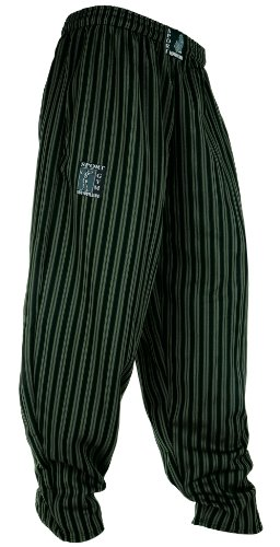 Ideale per il body building Ottima libertà di movimento Materiale leggero Pantaloni vestono leggermente grande (vedere la tabella delle taglie)