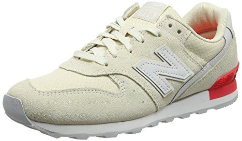 New Balance, Damen Sneaker, Weiß (White), 39 EU (6 UK)
