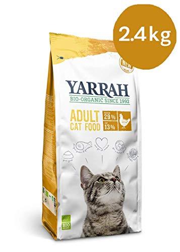 Yarrah Bio Katzentrockenfutter mit Huhn, 1er Pack (1 x 2.4 kg)