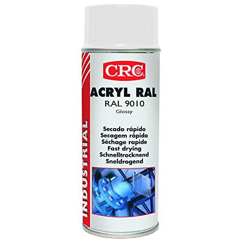 CRC - Pintura Acrílica De Secado Rápido Acryl Ral 9010 Blanco 400Ml
