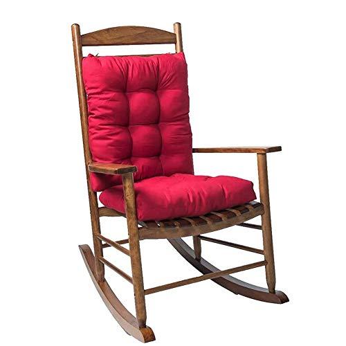 WAQIA Comfort Non-Slip Rocking Chair Cushion Set 17 Inch Indoor/Outdoor Chaise Lounger Cushions Soft Thickened Lounge Chair Cushion Sofa Pad,Patio Chaise Lounger Cushion