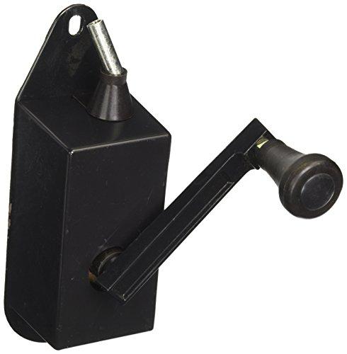 GIARDINI DEL RE, 55623- Cabrestante Manual para sombrilla, de 6.8x 26.8x 10.4cm, Color Negro