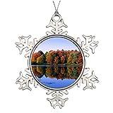 Wendana Walden - Adornos navideños para decorar el árbol de Navidad (peltre)