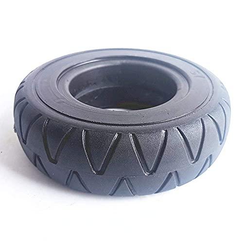 Neumáticos para scooter eléctrico, neumáticos sólidos 200x60 a prueba de explosiones y resistentes al desgaste, con ruedas de aleación de aluminio, accesorios para ruedas de scooter de 8 pulgada