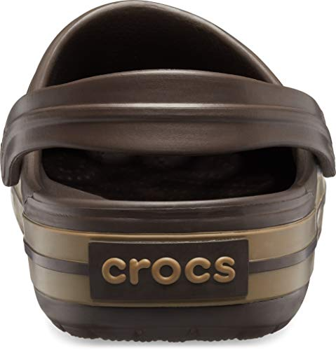 Crocs Unisex-Erwachsene Crocband Clogs, Braun - 6