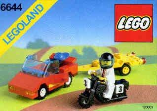 LEGO 3368–628–City Space Center und Bügeleisen von Asphalt