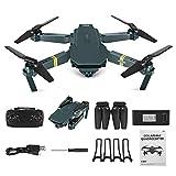 Drone WiFi FPV 4K avec caméra Grand Angle HD 1080P Caméra Mode Hight Hold Mode Bras Pliable Quadricoptère RC Drone Pro RTF avec G-Sensor/Headless-Modus/One Key Return Dron for Gift
