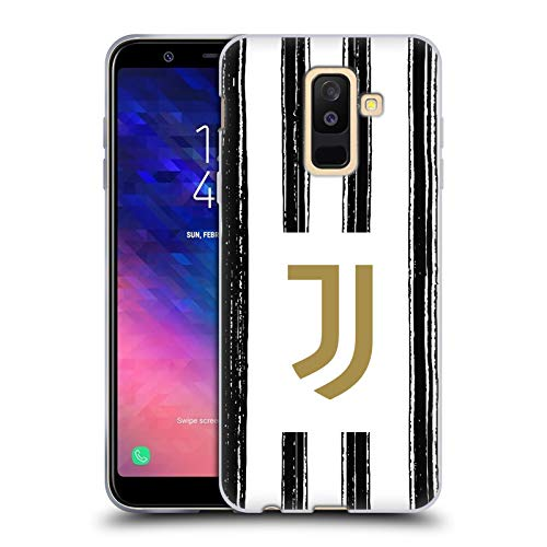 Head Case Designs Offizielle Juventus Football Club Home 2020/21 Match Kit Soft Gel Huelle kompatibel mit Samsung Galaxy A6 Plus (2018)