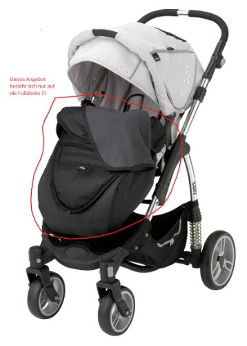 Fußdecke kiddy Sport`n Move Farbe E77 - schwarz