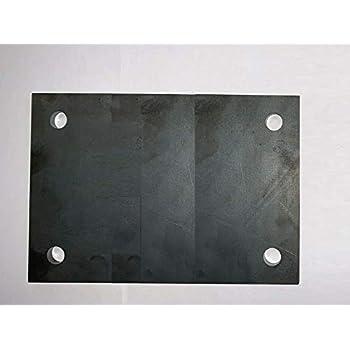 160x160x20 Stahlplatte Ankerplatte Blechplatte von 100-600 mm und St/ärken von 5-30 mm