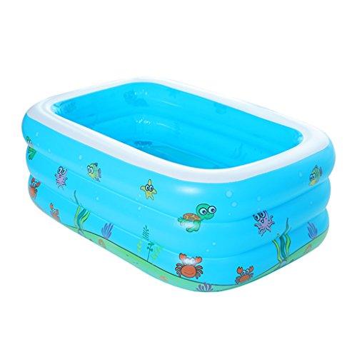 ZHDC® Baignoire gonflable, bébé Baril de bain Épaississement Insulation piscine enfant Pliage, pratique ( taille : 105*85*45cm )