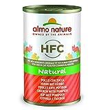 Almo Nature HFC Natural - Pollo con Calabaza (Lata de 24 x 140 g)