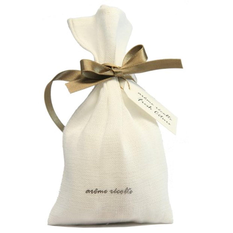 パトロン文明化承認アロマレコルト ナチュラルサシェ(香り袋) フレッシュシトラス【Fresh Citurs】 arome rcolte