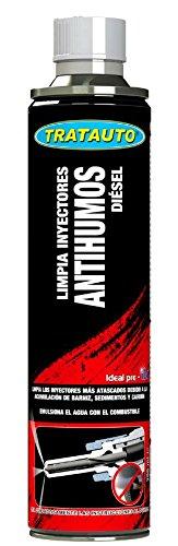 Tratauto - Limpia Inyectores Antihumos Diésel 300 ML.