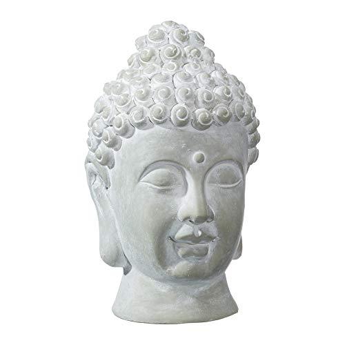 Cepewa Buddhakopf Buddha Kopf Gartenfigur Skulptur Figur Statue