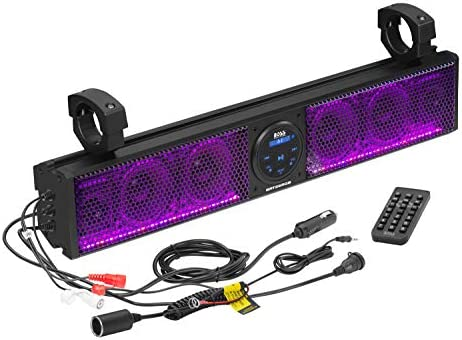 BOSS Audio Systems BRT26RGB ATV UTV Sound Bar System 26 Inches Wide IPX5 Rated Weatherproof product image