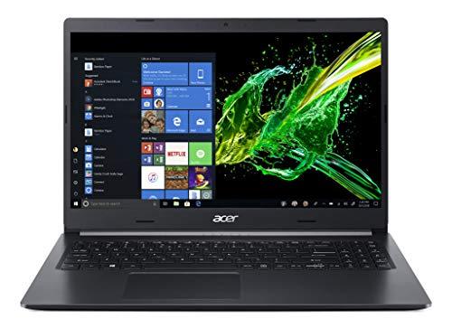 Acer Aspire 5 A514-52-59EQ Notebook con Processore Intel Core i5-10210U, Ram da 8 GB DDR4, 512GB PCIe NVMe SSD, Display 14' FHD IPS LED, Scheda Grafica Intel UHD, Windows 10 Home, Nero