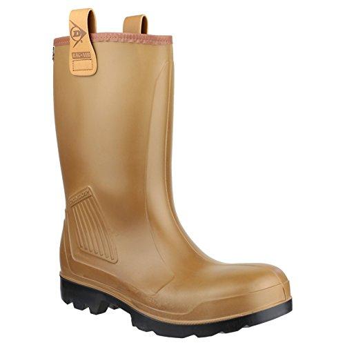 Dunlop R-AIR Un-Lined C462743 / Heren laarzen/Veiligheid Wellingtons (48 EUR) (bruin)