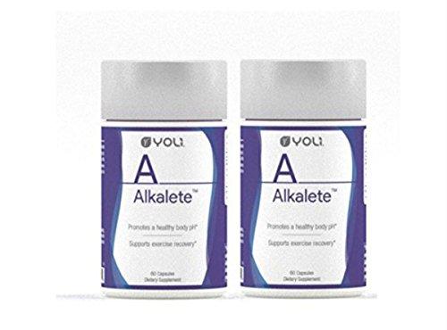 Yoli Alkalete 60 Capsules (Pack of 2)