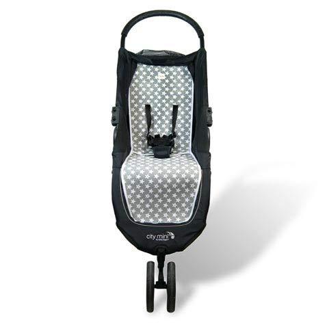 Fundas BCN ® - F61 - Colchoneta para Baby Jogger City Mini®, City Mini 3 ®, City Mini 4 ® - Diversos estampados (Fun Vintage Star)