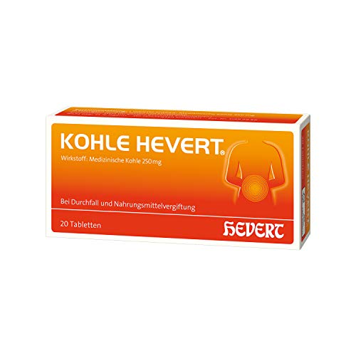 Kohle Hevert Tabletten, 20 St. Tabletten