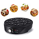 Dogggy Takoyaki Maker Easy and Simple to Operate Home Electric Machine to Make Japanese Takoyaki Octopus Ball Pan 18 Slots Duarble 1PCS