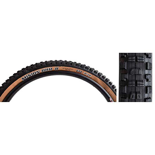 Maxxis Skinwall Dual Exo Neumáticos para Bicicleta, Unisex Adulto, Negro, 27.5x2.40 61-584