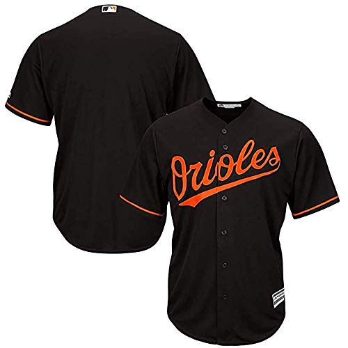 GMRZ MLB Jersey, T-Shirt Mit Baltimore Orioles Logo Design Major League Baseball Team Sportbekleidung Fans Jersey Männer Und Frauen,XXXL